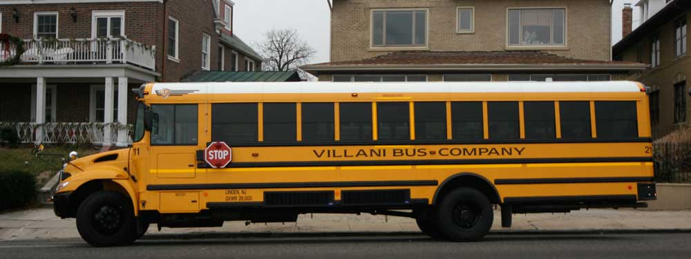 Charter bus services school bus services